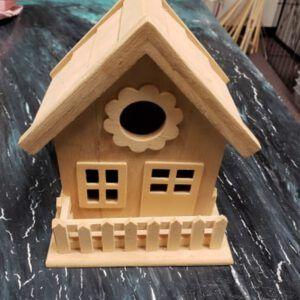 1 story birdhouse